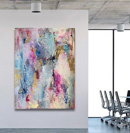 Commissioned Art Work in office by Melissa La Bozzetta
