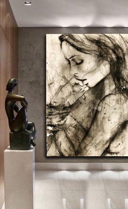 Rochelle-Commissioned Art Work by Melissa La Bozzetta